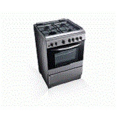 60 CM LG GAS COOKER WITH ROTISSERIE GRILLING