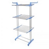 Three Layer Double Tube Cloth Drying Rack ₦16,500.00
